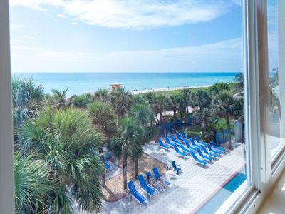 Photo for Oceanfront 1 BR Queen Suite, Private Beach, Pool