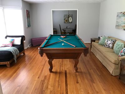 Photo for Southern Pines Home with Pool Table