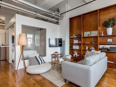 Photo for ⭐Incredible Hard Loft w 13' Ceilings + Parking ⭐