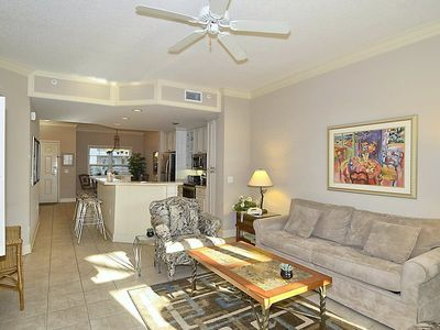 Photo for 2 bedroom and 2-bath, 1st floor villa in North Shore Place.