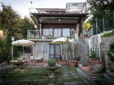 Photo for Villa with large garden and views over the Versilia