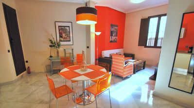 Photo for L1. 2 bedrooms. Apartment with WIFI / Air conditioning / Kitchen in Historic Center