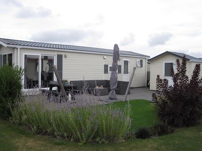 Photo for Luxury 6 person chalet steps away from Zoutelande
