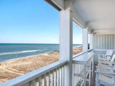 Photo for Star of the Sea: Ocean views, top level condo, private walkway to the beach, community pool.