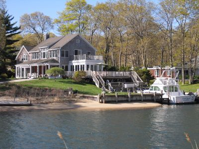 Photo for Waterfront Charmer on idyllic Shelter Island for summer rental