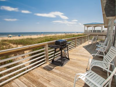 Photo for Charming 5 bedroom oceanfront beach cottage