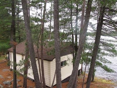 Photo for Camp Driftwood Cottage #1 2 bedroom cottage on Trout Lake in French River area