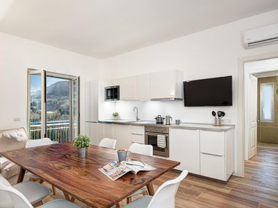 Photo for Lux Suites Oro  apartment in Sorrento with air conditioning, private parking & balcony.