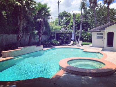 Photo for MD Anderson 5 Bedroom, 3.5 Bath w/POOL! Private Home Renovated & Fully-furnished