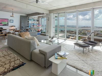 Photo for Stunning Designer Loft with Floor to Ceiling Views!