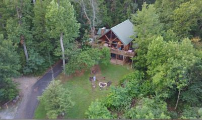 Photo for Gorgeous Views, 1 Acre, Fire Pit, Private Hot Tub, Top of the Mtn, Next to PKW