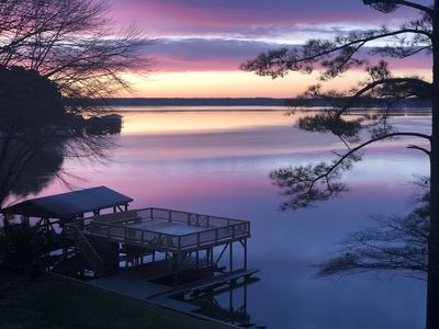 Photo for Best location at Lake Gaston! Main lake with a private cove. Close to everything