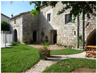 Photo for Le Mas des Bignones, Provençal farmhouse: pool, fenced garden, south of Ardèche