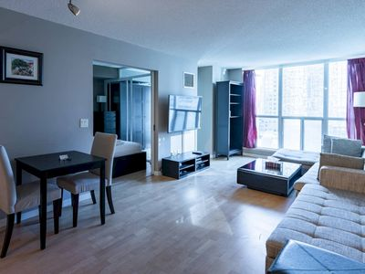 Photo for Chic 1 Bed in Heart of Downtown Toronto