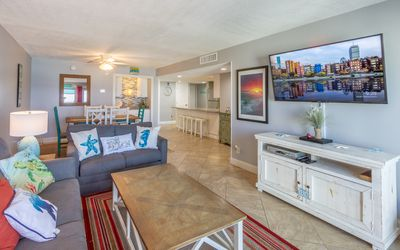 Photo for Chic Coastal Retreat - Fully remodeled Beachfront Condo (617)