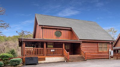 Photo for Smokey Mountain Escape Luxury Cabin with Indoor and Outdoor Pool and Mini-golf!