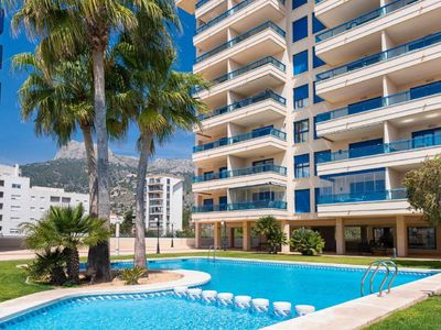 Photo for Calpe Apartment, Sleeps 4 with Pool and Air Con