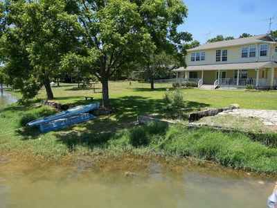 Photo for The Mellow Yellow Lake House. Come Relax on the Shores of Lake Buchanan!