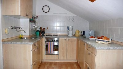 Kitchen with many comfort