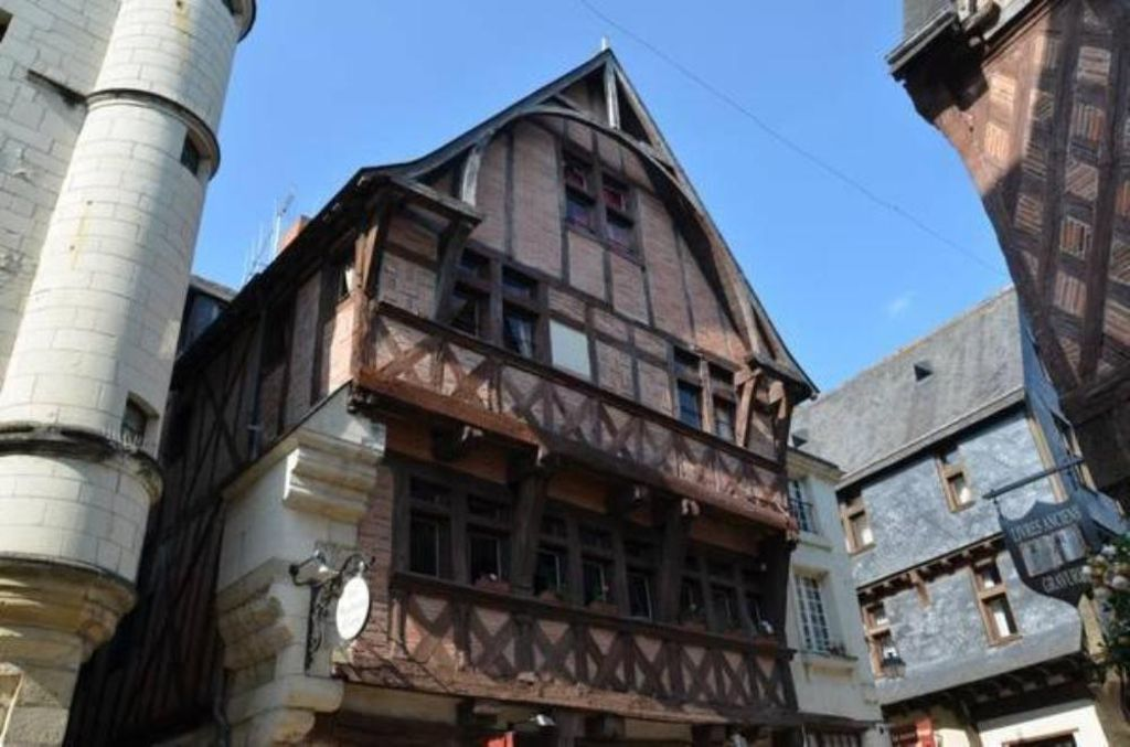 The Red House 3 * medieval Chinon