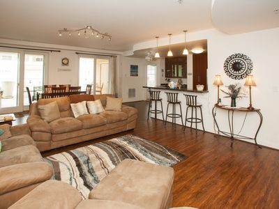 Photo for Beautiful, highly-desired 3 bedroom courtyard unit on the first floor - elevator at complex