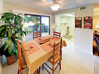 Dining Room - Enjoy conversations and sit-down meals at the dining table with seating for 4.