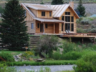 Photo for Riverfront Cabin on the Madison! 35 minutes to Yellowstone Nat'l Park!!