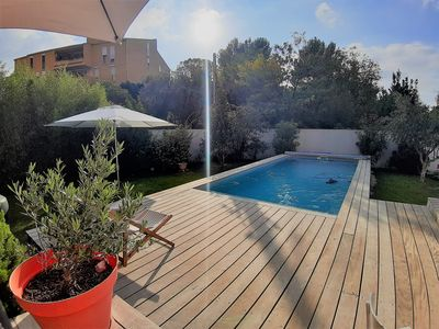 Photo for Villa Marseille with swimming pool, 5 people