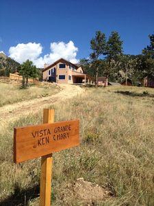 Photo for Vista Grande - Gorgeous New Custom Home with Views of Rocky Mountain National Park -- EV #3346