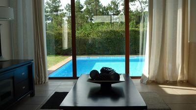 Photo for Holiday rental with private pool, beach and WiFi.