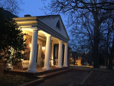 Front Porch of the house overlooking Overton Park