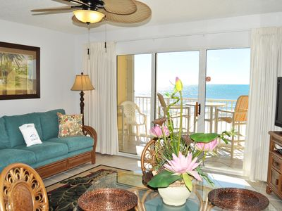 Photo for Direct Ocean View from 5th Floor, Okaloosa Island, Beach Service Incl -  gd405