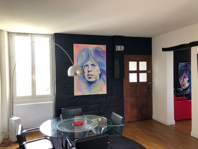 Photo for Petit Biarritz LOFT 60m2 great comfort, near downtown and beach