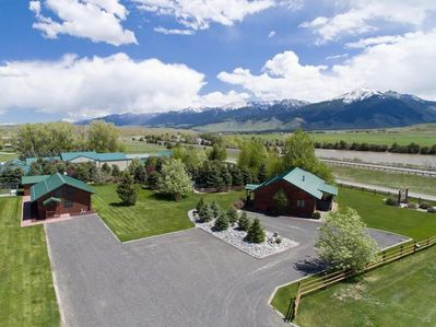 Paradise Ranch Retreat- this listing is for both the Trout House and Moose Horn