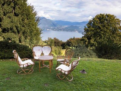 Photo for Villabella is an elegant villa on the hill of Maggiore Lake, with wonderful view, 5 bedrooms 4 bathr