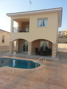 Photo for Paphos Super holiday home with fantastic sea views
