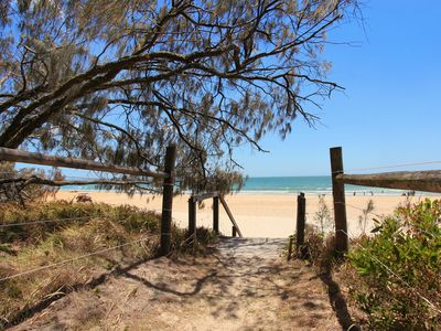 Photo for 3 bedroom, beach facing apartment in Windmill, 50% off February