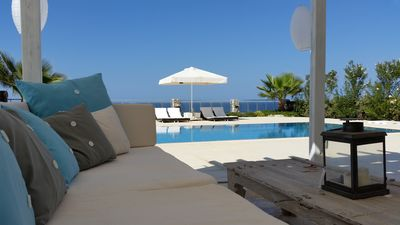 Photo for AN EXCLUSIVE, LUXURIOUS VILLA RIGHT ON THE SEAFRONT WITH LARGE PRIVATE POOL!