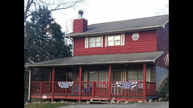 Photo for Americana Cottage - sleeps 4 in the heart of Pigeon Forge