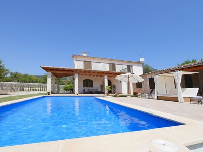 Photo for Popular holiday home - good location, private pool and sun terrace, BBQ, WIFI, T
