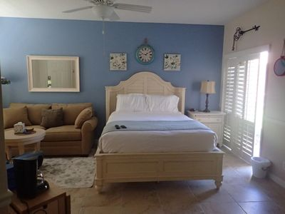 Photo for 1st Floor Studio 1BR/1Bath Villa W/Kitchenette, Queen Bed & Full Sized Sofa Bed