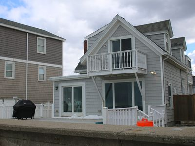 Photo for Gorgeous Beach House, Ocean-Front, Newly Renovated