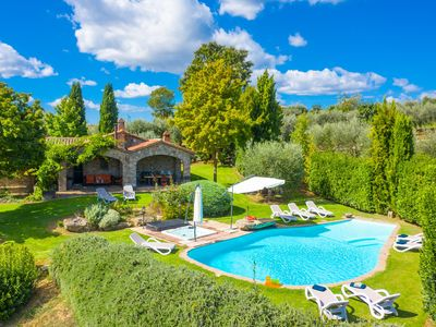 Photo for Villa Casale Silvia: Large Private Pool, A/C, WiFi
