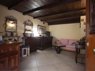 Photo for Holiday home between the Amalfi Coast and the thousand year old Benedictine Abbey