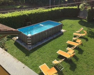 Villa Mario With Above Ground Pool And