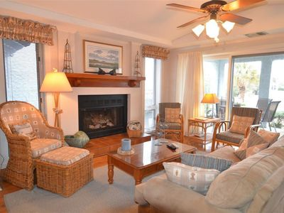 Photo for Ocean View Villa Located Poolside and just steps to the beach