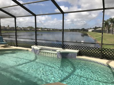 Photo for Beautiful 5 bed Home with private Pool 10 min drive from Disney World