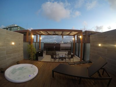 Photo for Penthouse with exclusive Jacuzzi in Tambaú 180m from the beach
