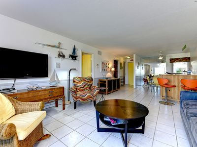 Photo for Direct Beach Front  Siesta Key Condo on Siesta Key Beach-Walk to Village