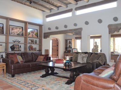 Photo for High Desert Hacienda with 5 bedrooms/4 bathrooms and minutes from the Plaza